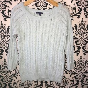 American Eagle soft pastel blue sweater size small